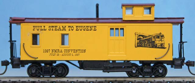 1987 NMRA Convention Caboose