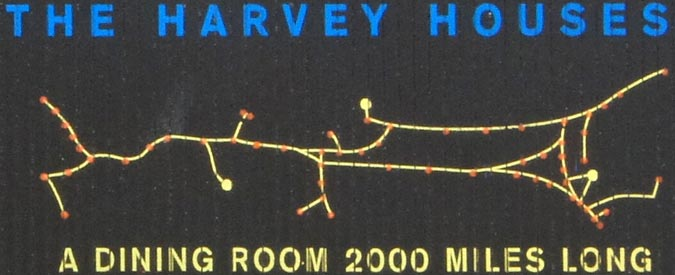 The Harvey House map