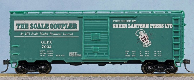 The Scale Coupler Journal box car